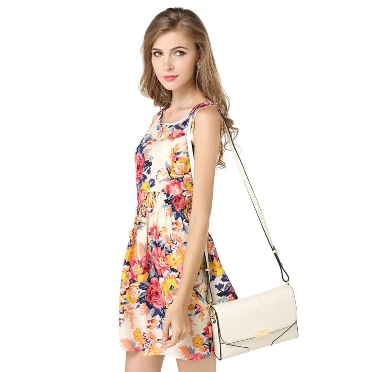 Summer large size vest skirt print short skirt sleeveless floral chiffon dress        size S, M, L, XL, XXL  S  length 86cm chest 88cm waist 54 to 85cm  M  length 88cm chest 92cm waist 56 to 90cm  L  length 88cm chest 96cm waist 58 to 95cm  XL length 90cm chest 100cm waist 60 to 100cm  XXL  length 90cm chest 104cm waist 62 to 105cm | Shop this product here: http://spreesy.com/Dress4u/2 | Shop all of our products at http://spreesy.com/Dress4u    | Pinterest selling powered…