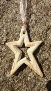 Halsband stjärna / Necklace star diy pottery