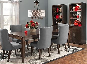Glamour 7 Pc Dining Set Dining Sets Raymour And Flanigan Furniture Hom