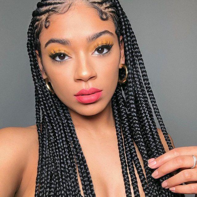 Star Crossed Ultra Matte Lipstick Cool Braid Hairstyles Braids For Black Hair Braided Hairstyles For Black Women