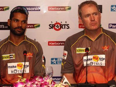 Tom Moody all praises for Shikhar Dhawan!