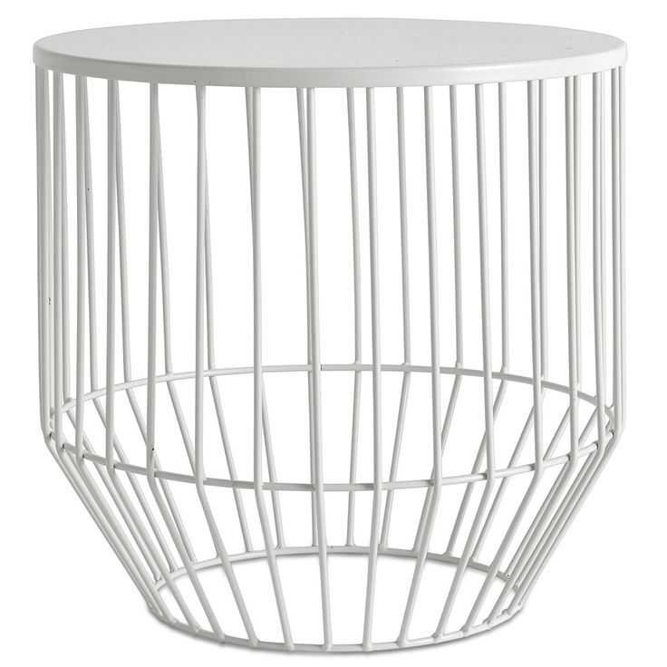 Wire Stool White Products