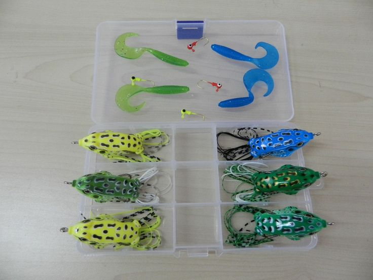 new 14pcs/set soft plastic fishing lures set package with box Soft Lure sleeve squid jig fishing tackle for sale free ship