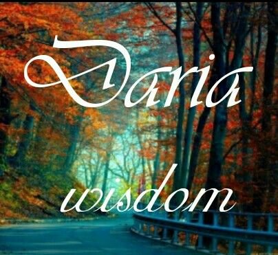 Daria Wisdom