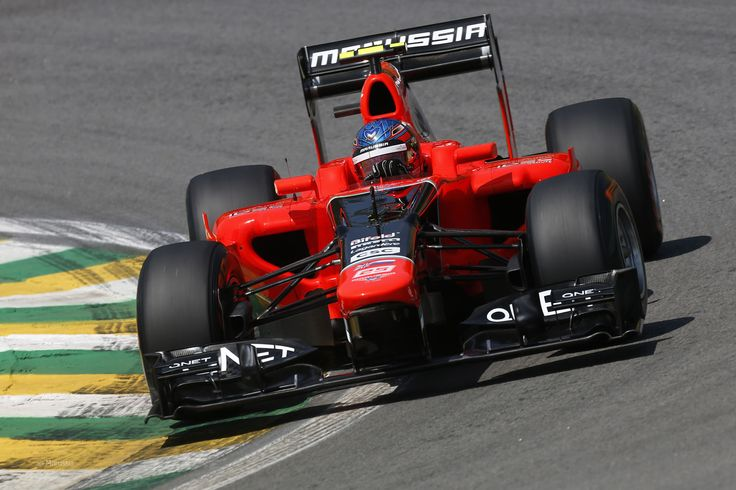 2012 GP Brazylii (Interlagos) Marussia MR01 - Cosworth (Charles Pic)