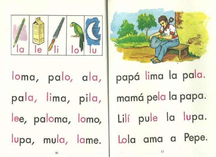 Libro - Mi Jardín.pdf | Preschool writing, Spanish lessons