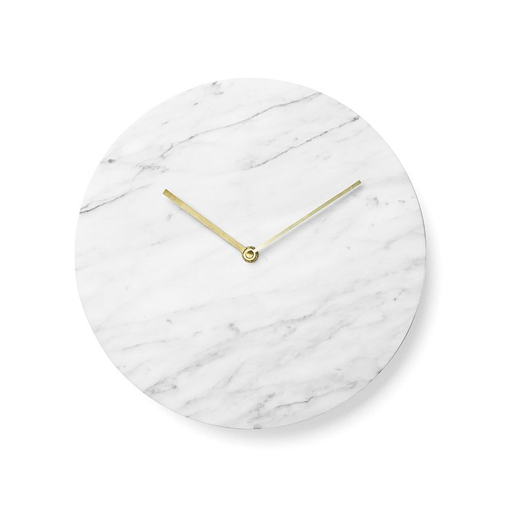 top3 by design - Menu - Norm Architect DK - marble wall clock green