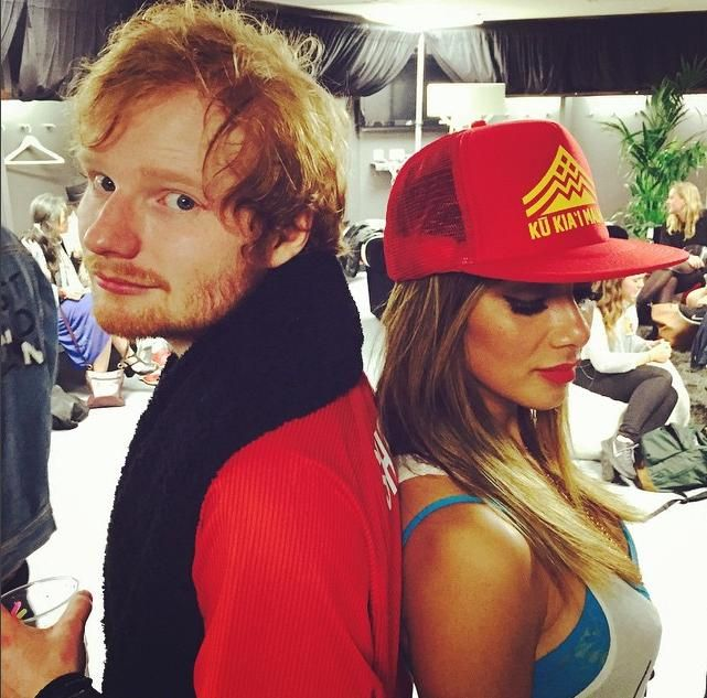 In An Effort To Confuse Us, Ed Sheeran and Nicole Scherzinger Might Be Dating