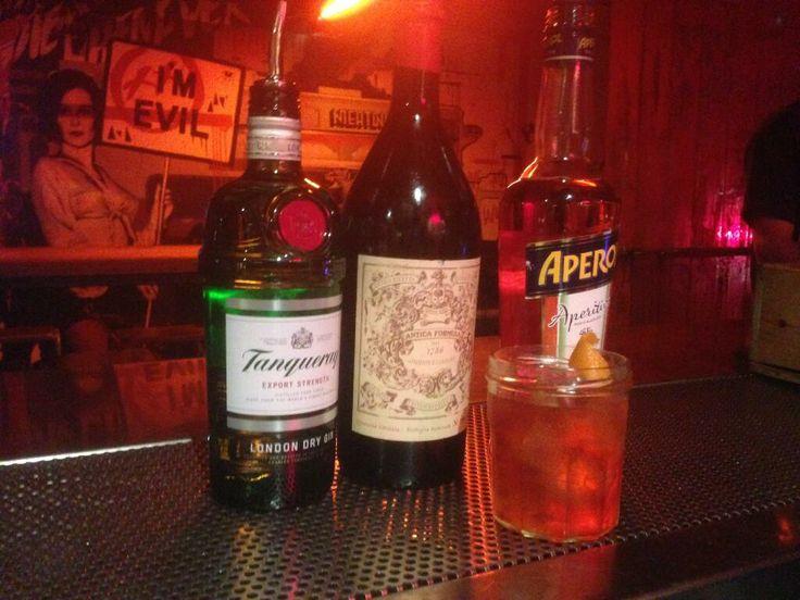 MEATliquor brings you the New Cross Negroni