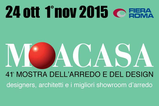 """MOACASA 2015"": Made in Italy Furniture & Design Exhibition! ⇒  #Rome #Matresses #Moacasa"