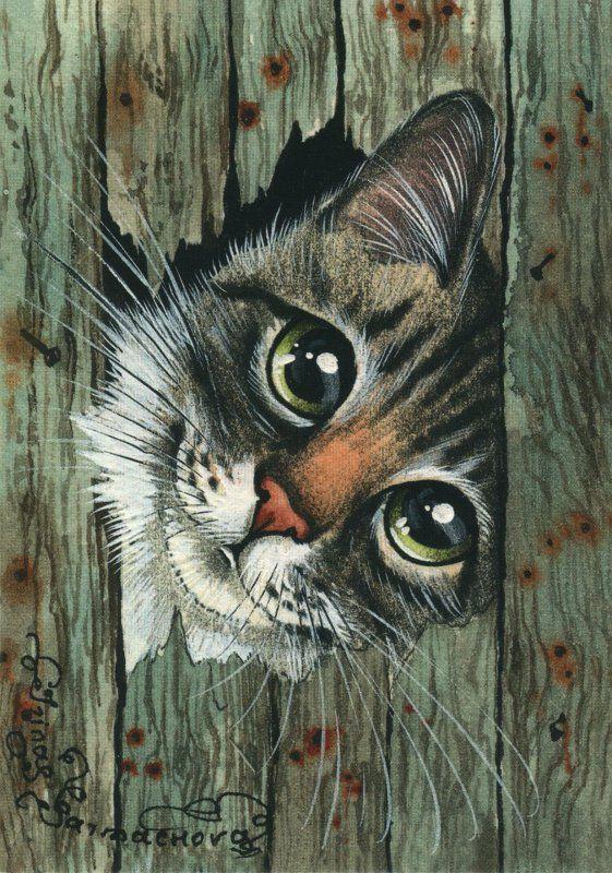 Коты в картинках для декупажа, днем рождения анна