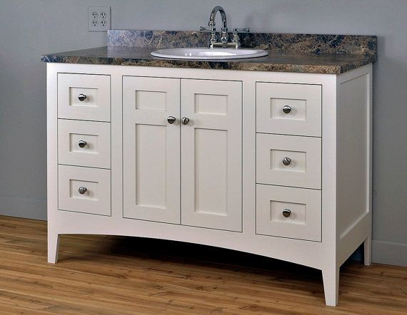 Shaker Mission Style Bathroom Vanity Cabinet Cabinet Only Bathroom Pinterest Bathroom