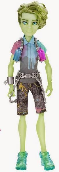 Porter Geiss - HAUNTED - Monster High docka 2015 på Tradera.com - Dockor