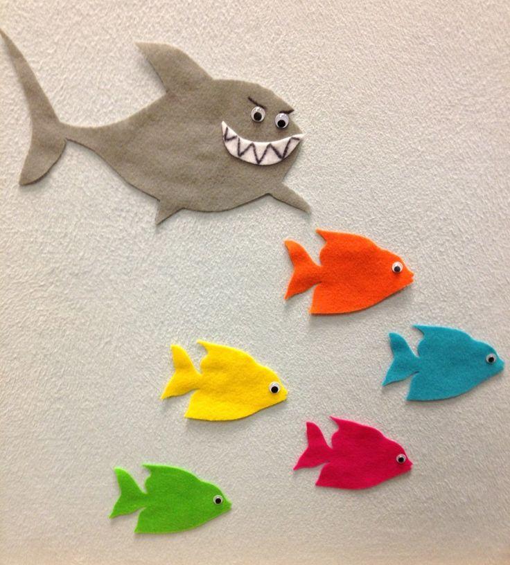 Five Little Fish, Teasing Mr. Shark