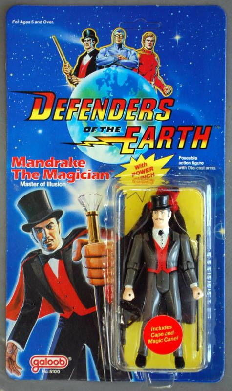 vintage1985 galoob defenders of the earth garax action figure
