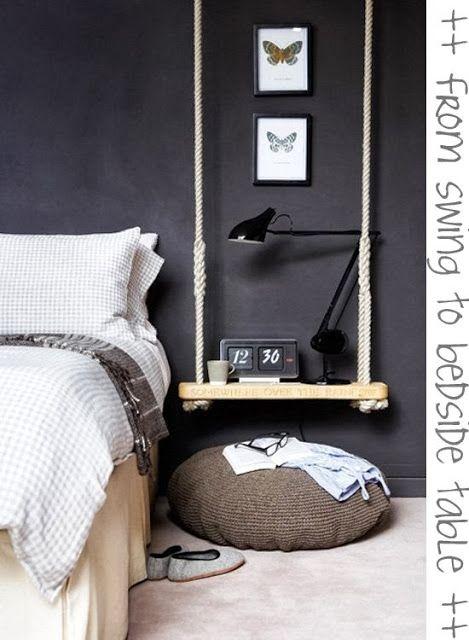 stolik nocny w sypialni inspiracja
