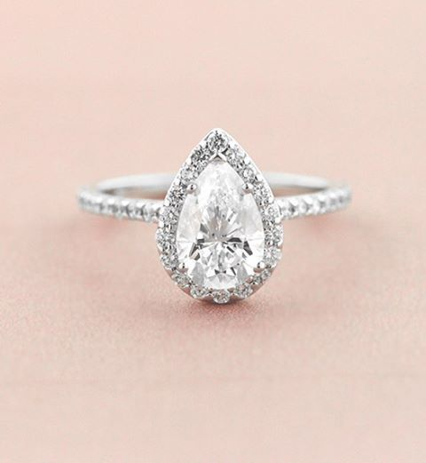 Speechless at the sight of this 1.25ct Heroine Accented Halo Engagement Ring!
