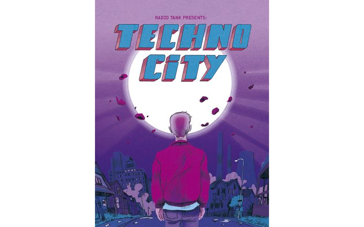 """""""Techno City"""" – a specially commissioned comic by Radio Tank. Tank AW2015"""