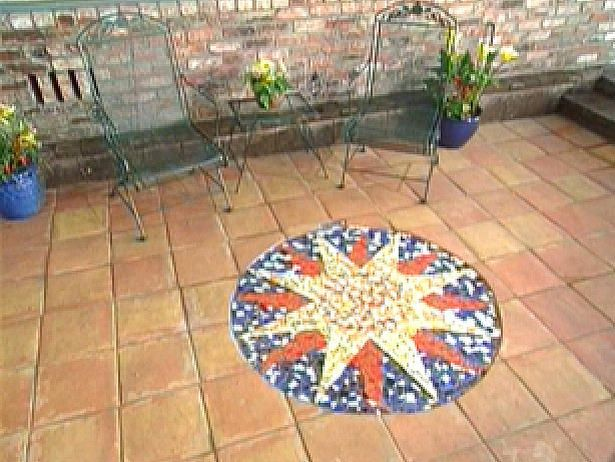 Creating A Mosaic Patio : Archive : Home U0026 Garden Television