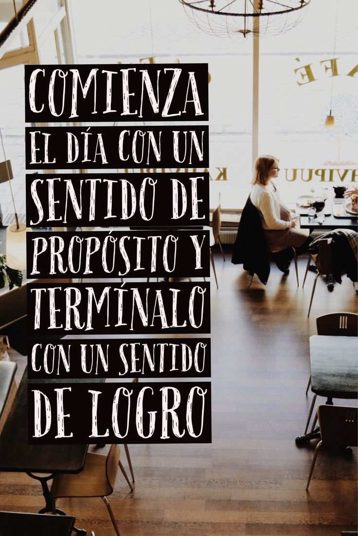 Mantra de productividad en +People