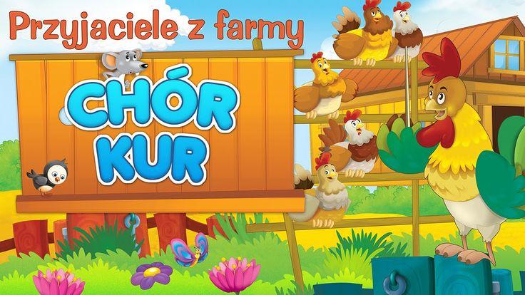 Bajka dla dzieci - Przyjaciele z farmy - Chór kur