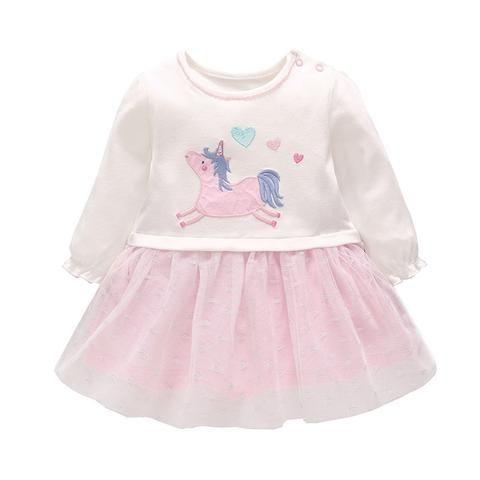 0299bf2c179b1 Vlinder Baby Girl dress Baby girl clothes Cute cartoon Snug Dress ...