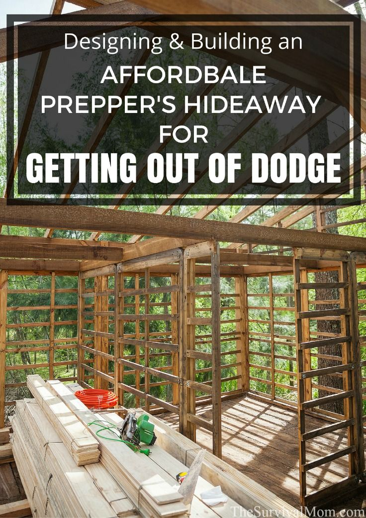 Do you want a bug out location, a preppers hideaway, if you ever need to get out of Dodge? Here are a few guidelines for the design and build.