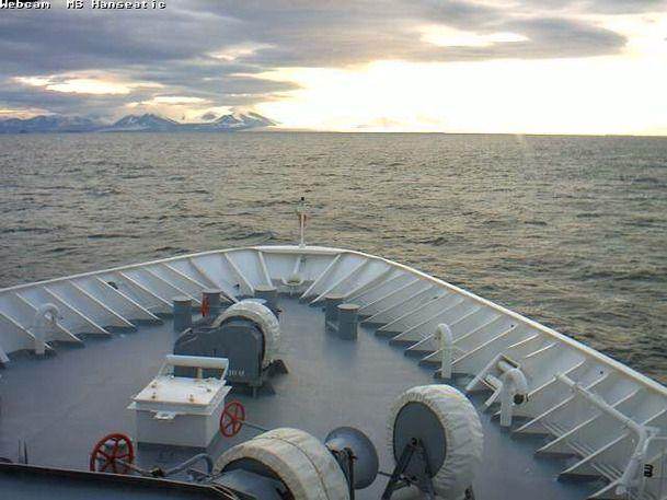 MS Hanseatic - Bridge (Forward) Webcam / Camera