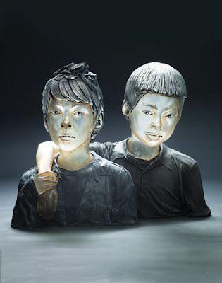 Contemporary Glass | Glass blown sculpture from CCA Alum Oben Albright