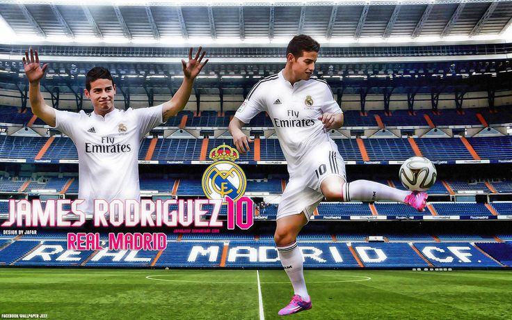 James Rodriguez Real Madrid Wallpaper by jafarjeef.deviant… on @DeviantArt