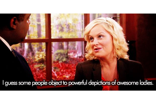 Who wouldn't respect all that?   17 Reasons Leslie Knope Is The Best Feminist Role Model On TV