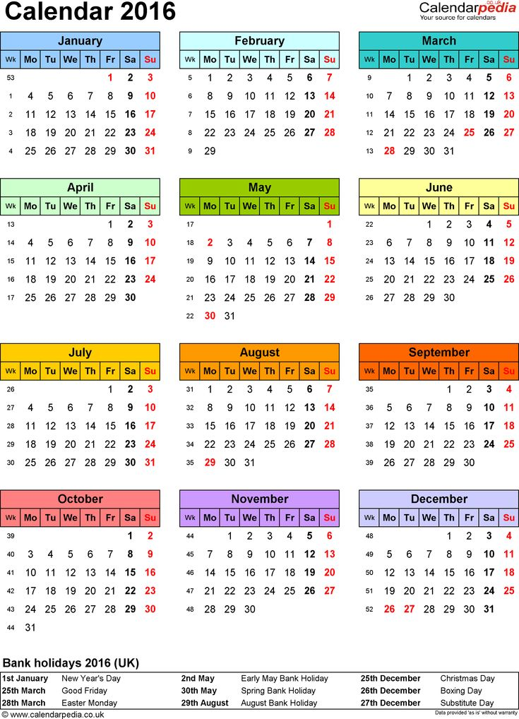 Best 25+ 2016 calendar uk ideas on Pinterest Calendar for year - yearly calendar
