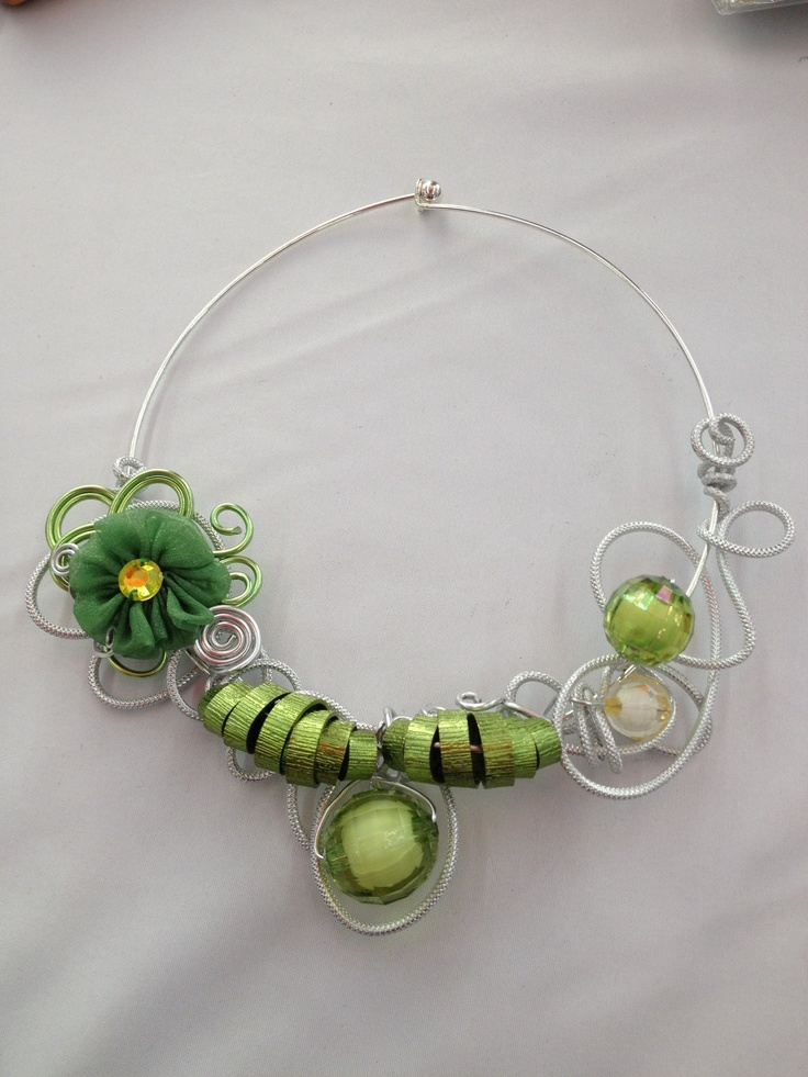 292 best Aluminium wire jewelry images on Pinterest | Wire necklace ...