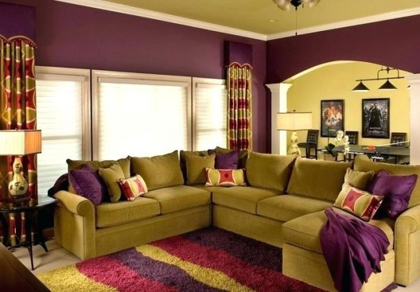Top 9 Trends In Mobile Home Interior Painting Ideas To Watch Mobile Home Interior Painting Ideas In 2020 Purple Living Room Living Room Colors Living Room Color Schemes