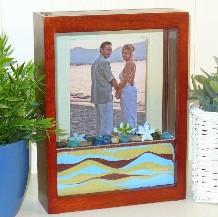 The Unity Sand Ceremony Is A Beautiful And Meaningful Alternative To Candle Forever Frame