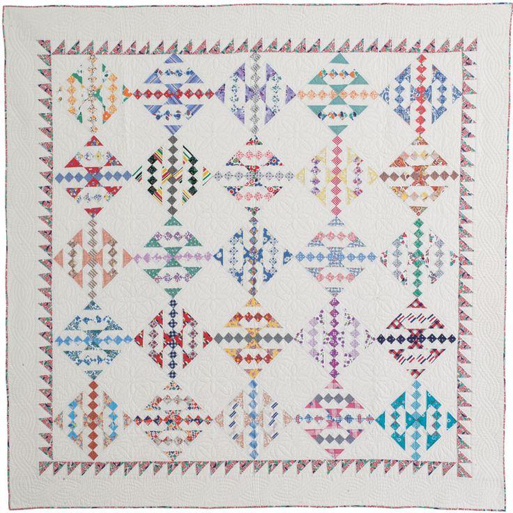 Intermediate Quilting Patterns : Intermediate Quilt Pattern: Seattle World s Fair by Georgina Fries in Quilters Newsletter June ...