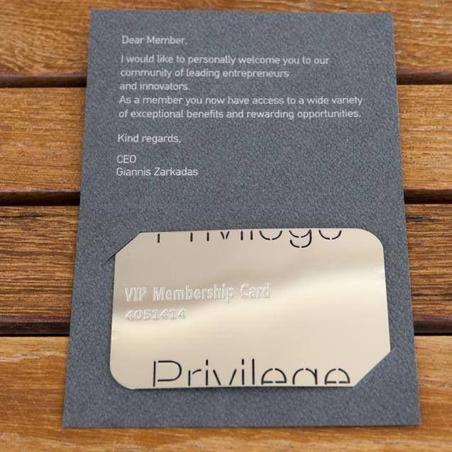 Privilege VIP membership
