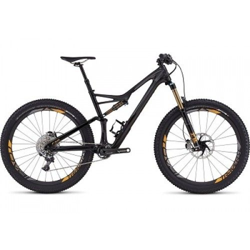 Specialized S-Works Stumpjumper FSR 6Fattie 27.5+ Mountain Bike 2016 - Full Suspension MTB