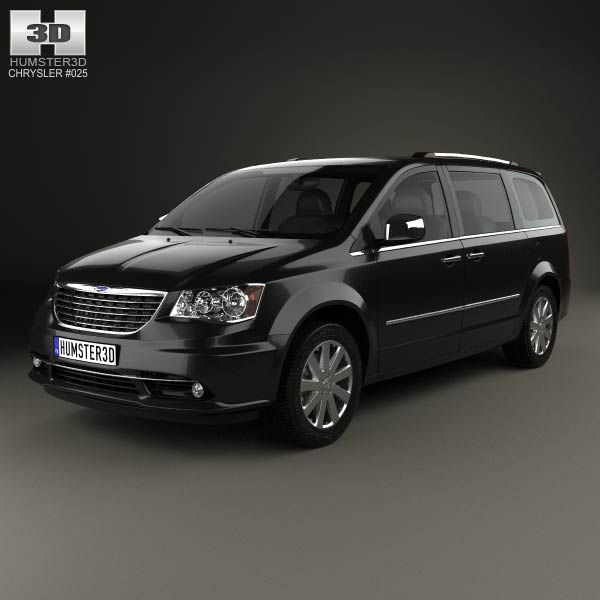 Chrysler Grand Voyager 2011 3d model from humster3d.com. Price: $75