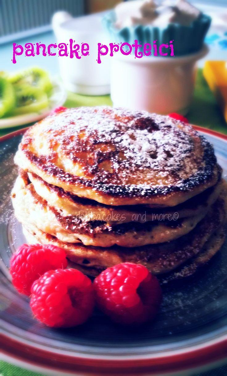 Come prima ricetta direi di pubblicare dei pancake proteici super golosi! La colazione è importante e bisogna farla con gusto!