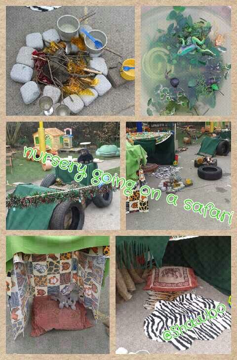Role Play Safari In My Nursery Jungle Pinterest