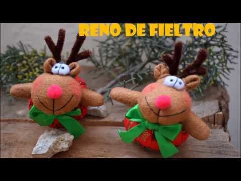 Reno de fieltro - YouTube