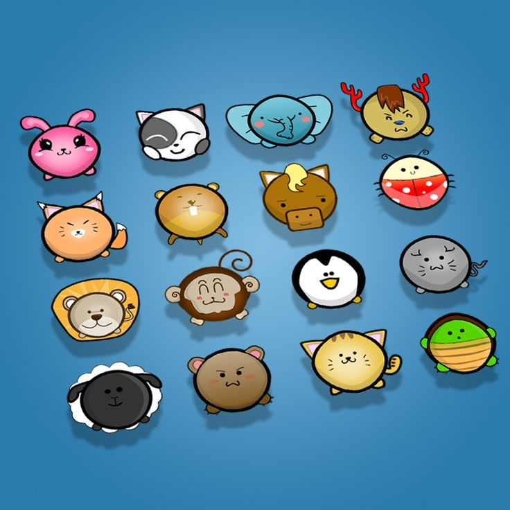 Cute Animal Icon Pack
