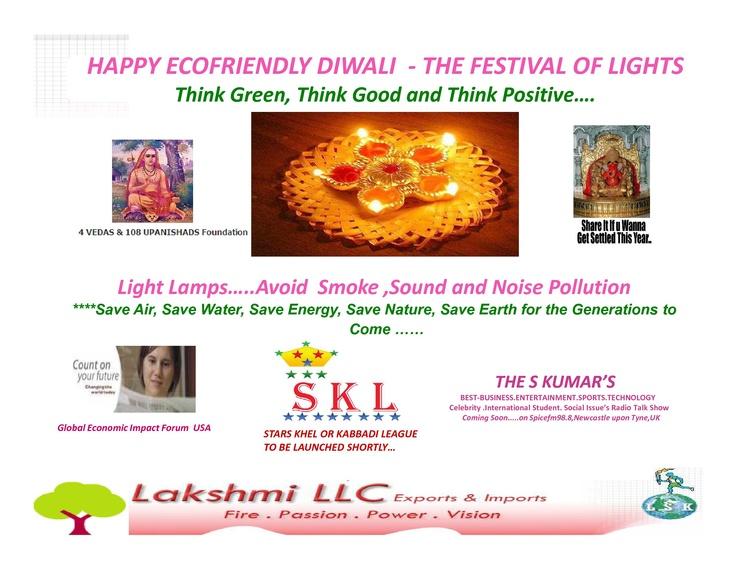 Happy Eco Friendly Diwali Campaign....