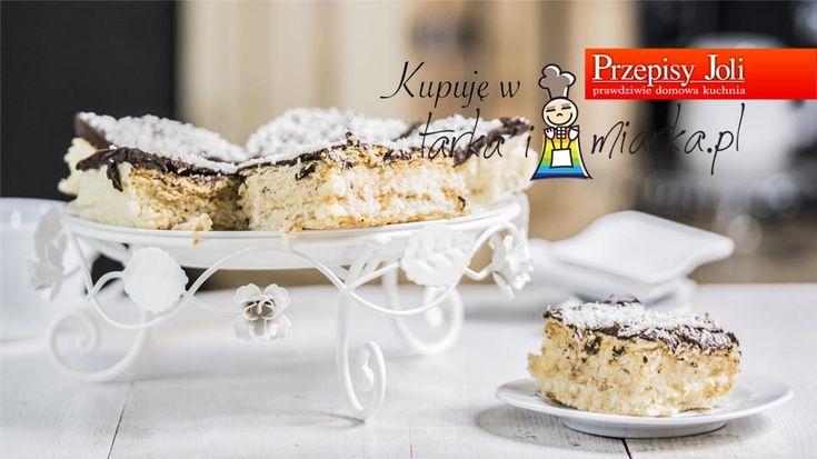 KOKOSOWA PANIENKA BEZ PIECZENIA - najlepsze ciasto w 10 minut bez pieczenia, błyskawiczne, pyszne i kokosowe!