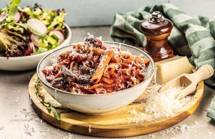 Pasta Arrabbiata - Godtlevert – Sunne oppskrifter fra Roede-kjøkkenet