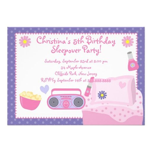 126 best Pizzeria themed birthday ideas images on Pinterest - best of birthday invitations sleepover party