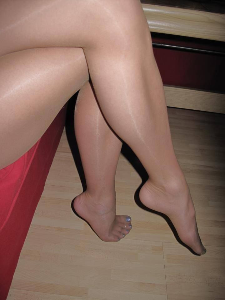 Like Pretty sandals and pantyhose sex
