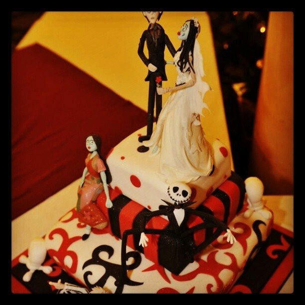 Tim Burton cake. Cakes Pinterest Tim burton and Cake
