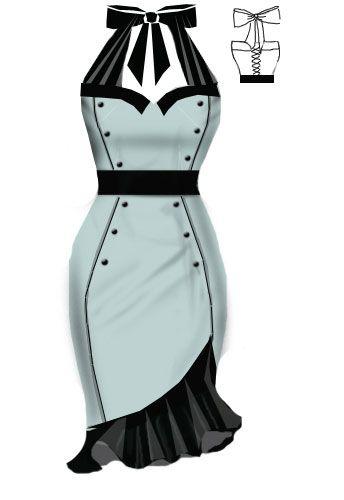 Rockabilly Dress *mint*